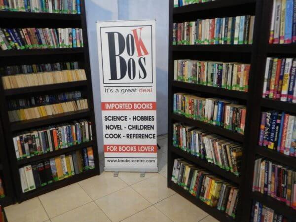 Salah satu sudut Books Centre Bandung