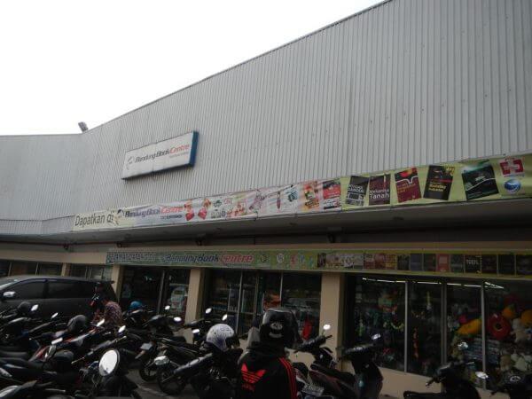 Toko Buku Bandung Book Center, Jalan Suci Bandung