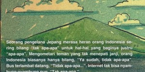 "Sampul belakang ""Kangen Indonesia"""